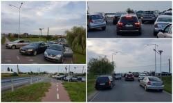 Revoltă a locuitorilor din cartierul Via Carmina! CNAIR le-a închis ieșirea principală în DN7