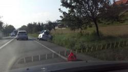 Accident rutier pe DN7 pe sensul de mers Arad-Deva