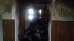 O casă a luat foc în Pâncota, luni seara