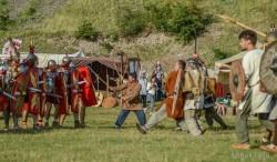 Garda Aplum aduce romanii și dacii la Zilele Aradului