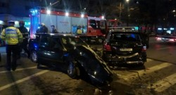 Accident rutier cu fugă de la locul faptei