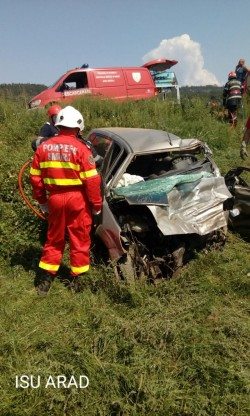 Un bărbat și-a pierdut viața într-un accident rutier care a avut loc la Bârzava