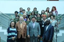 Studenţi chinezi în vizită la Consiliului Judeţean Arad