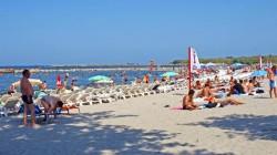 O plajă de pe litoralul românesc a fost închisă