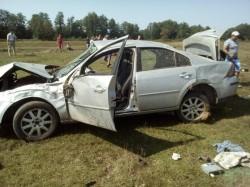 Un bărbat a murit într-un accident rutier în apropiere de Sebiș
