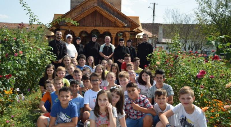 Tabără Creştin-ortodoxă pentru copii la Schitul Tămand