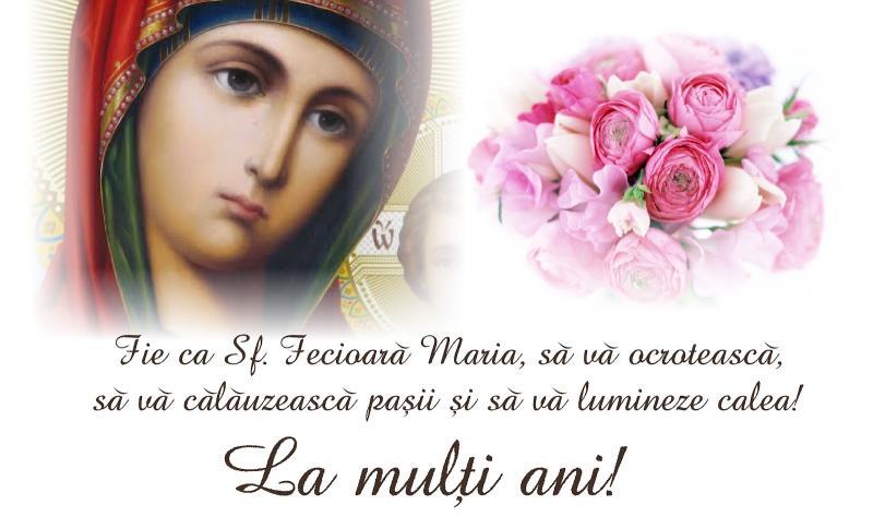 Nașterea Maicii Domnului -Sfânta Maria Mică 8 septembrie