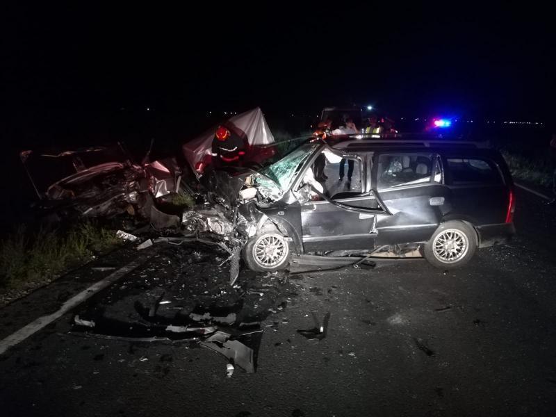 GRAV accident rutier, luni noaptea lângă vama veche din Nădlac