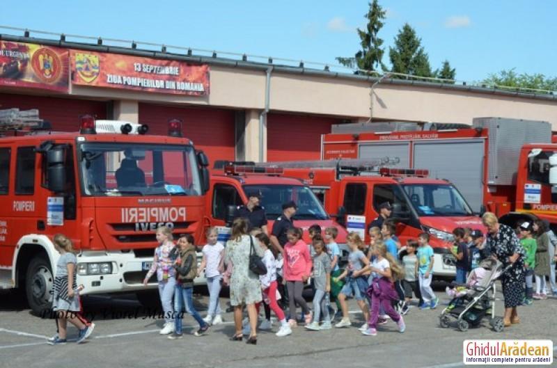 ISU Arad își deschide porțile JOI 13 septembrie de Ziua Pompierilor