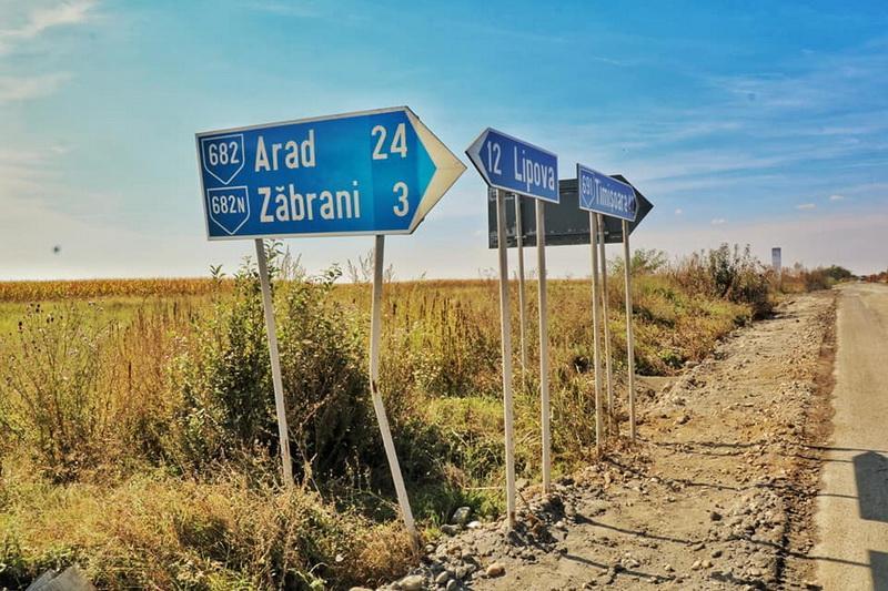 A început reabilitarea drumului judeţean 691 Lipova – Neudorf – Timișoara