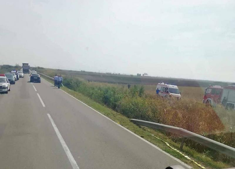 Accident MORTAL  între Socodor și Pilu. Un bărbat in vârstă de 60 de ani și-a pierdut viața