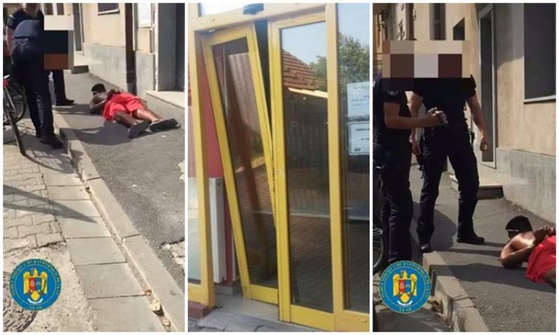 Autorul spargerilor de la Oficiului Poștal Nr.7 din Micălaca a fost prins