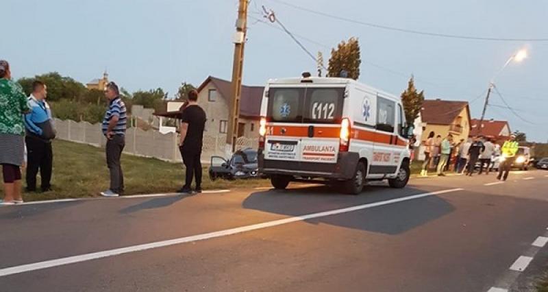 O tânără din Timiș și-a pierdut viața, într-un accident rutier