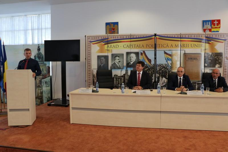 Zilele Culturii Sârbe, debut festiv la Consiliul Judeţean Arad!