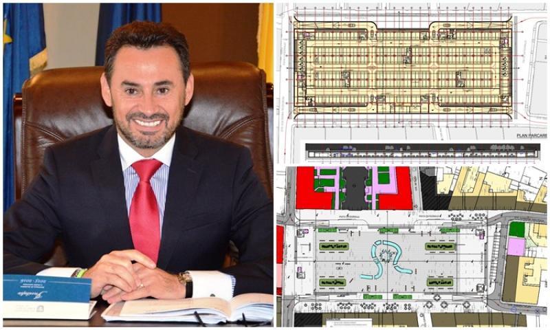 Două parcări subterane în centrul municipiului pe masa consilierilor vineri în şedinţa CLM