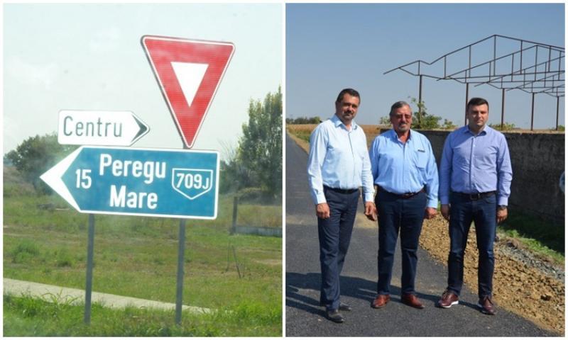 Drumul Nădlac – Peregu Mare, aproape finalizat!