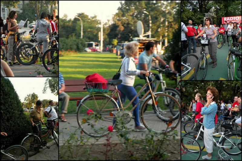 Sâmbătă 22 septembrie este Ziua Mondială fără mașini. Arădenii sărbătoresc această zi prin mersul pe bicicletă