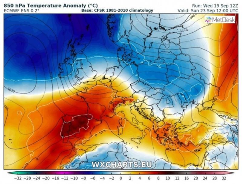 Vine FRIGUL în România. Diferențe mari de temperatură de la o zi la alta