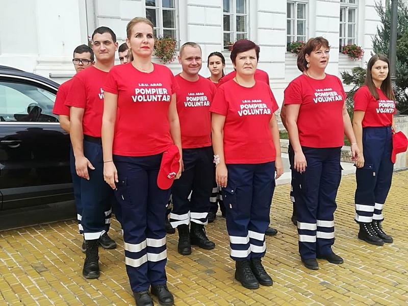 Vrei sa devii pompier voluntar? Te poţi înscrie până în 10 octombrie