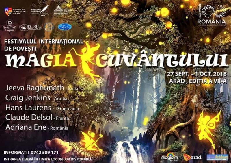 Începe Festivalul Internațional de Povești Magia Cuvântului. VEZI programul
