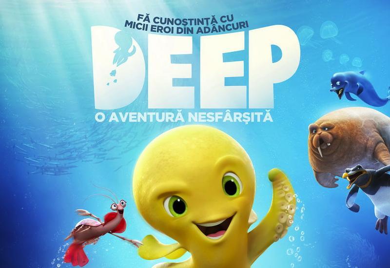 """Animația """"Deep: O aventură nesfârșită"""", la cinematograful din Grădiște"""