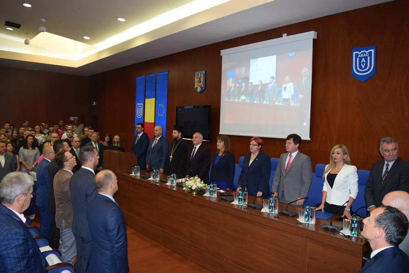 """Universitatea """"Aurel Vlaicu""""  a început noul an universitar"""
