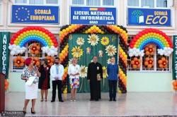 Emoţiile începutului de an şcolar au fost la cote maxime la Liceul Naţional de Informatică Arad