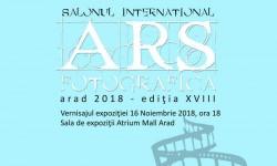 Salonul Internațional Ars Fotografica Arad – 2018 Ediția a XVIII-a - Foto Club Arad – 50 de ani