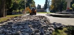 Se reamenajează Parcul Mihai Eminescu