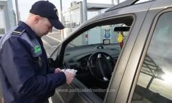 Cetăţean bulgar depistat la P.T.F. Nădlac II cu permis de conducere fals