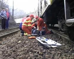 Un GRAV accident feroviar a avut loc luni după-masa în Sânpetru German