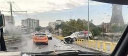 ACCIDENT rutier pe Podul din Micălaca