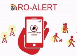 Astăzi RO-ALERT va fi testat în județul Arad