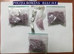 Polițiștii au reținut pentru trafic de droguri, un bărbat din Vladimirescu