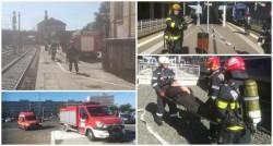"""Pompierii arădeni au luat """"cu asalt"""" GARA CFR din Arad"""