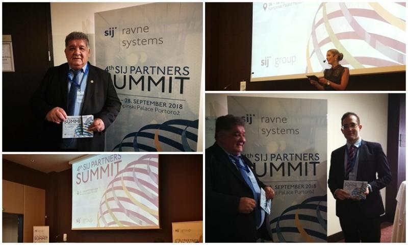 Participare arădeană la cel de-al 4-lea Summit al Grupul SIJ în Slovenia
