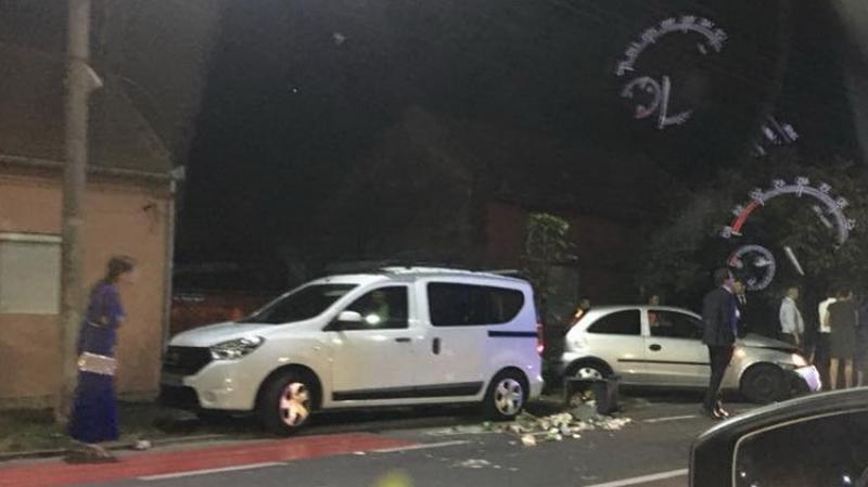 Strada Petru Rareş, din nou scena unui accident cu urmări pentru şoferi