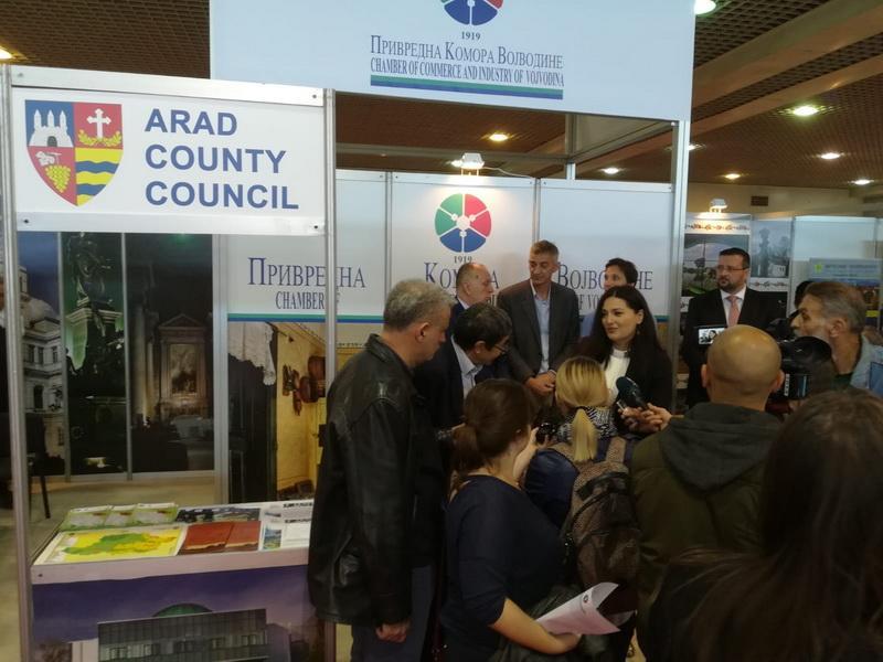 Aradul prezent la Târgul Internațional de Turism al Serbiei