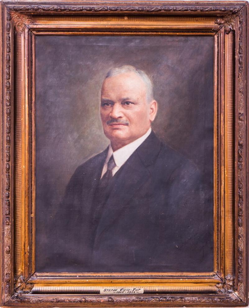 Exponatul lunii octombrie la Complexul Muzeal Arad: Portretul lui Ștefan Cicio Pop