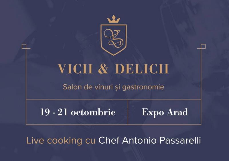 Vicii și Delicii revine la Expo Arad în perioada 19-21 octombrie