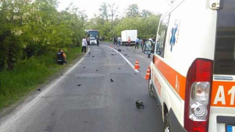 Un motociclist și-a pierdut viața pe o șosea din Timiș