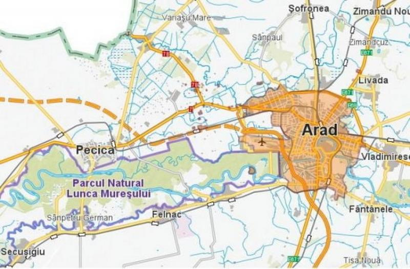 Investiție importantă a Consiliului Județean Arad, Centura Aradului
