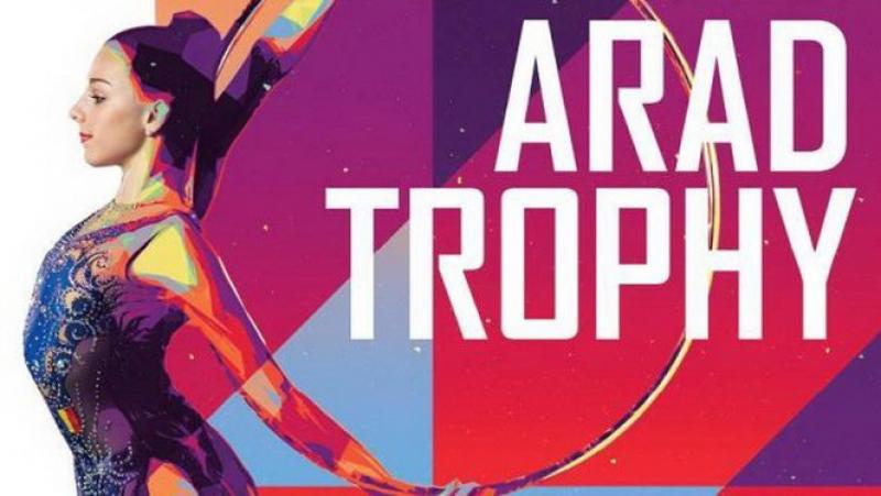 "Gimnastele de la ritmică dau recital la ""Arad Trophy"""