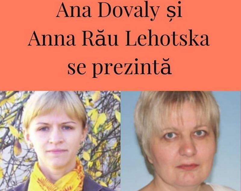 """Biblioteca Județenă """"Alexandru D. Xenopol"""" Arad vă invită la o întâlnire cu scriitoarele Ana Dovaly și Anna Lehotska"""