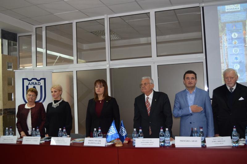 """Eveniment academic la Universitatea """"Aurel Vlaicu"""" din Arad"""