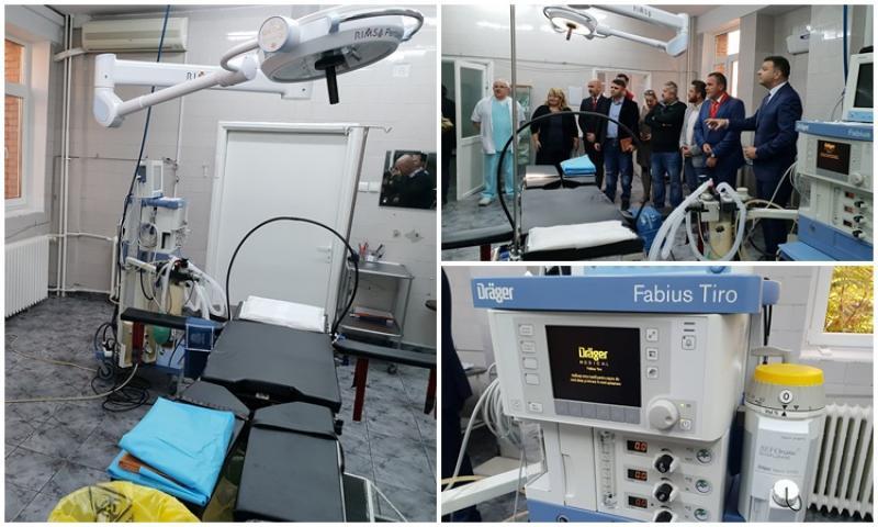 Investiții în saloanele și aparatura Secției de Obstetrică-Ginecologie a Spitalului Județean Arad