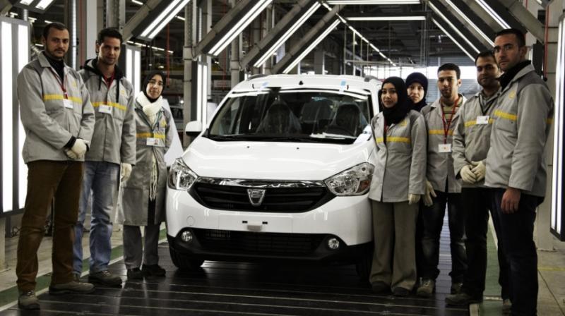 DACIA dublează producţia în fabricile din Maroc în timp ce la Mioveni, scade încet dar constant