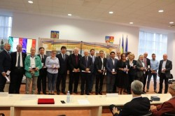 Consiliul Judeţean Arad a aşternut covorul roşu în faţa investitorilor italieni!