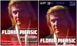 """Florin Piersic vine la Arad la """"Întâlniri cu Personalităţi"""""""