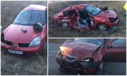 Accident grav în Zimandul Nou! 5 persoane au ajuns la spital!